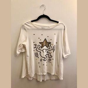 Uniqlo SPRZ NY Keith Haring T Shirt